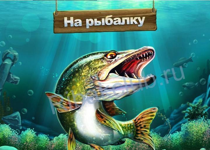 На рыбалку игра