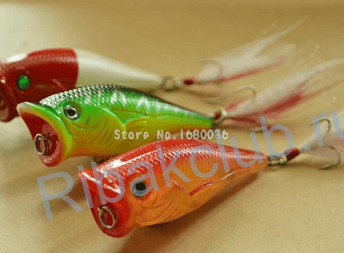 The best surface lures for pike. Catching pike on surface lures.