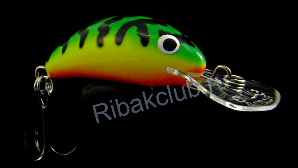 Micro catchability wobblers. The best baits for catching chubs. Photo